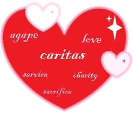 caritas, agape