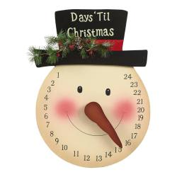 Frosty Countdown from Pinterest